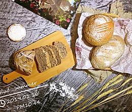 燕麦果仁软欧包—低糖低油的做法