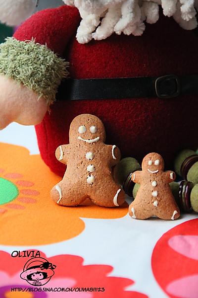 超简版圣诞姜饼人的做法