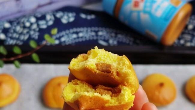 #四季宝蓝小罐#无油低糖夹心小蛋糕的做法