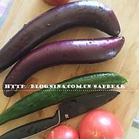 西红柿茄丁面 --- 有型有色快手面的做法图解2
