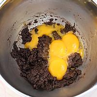 吃一口就爱上的爆浆奶盖可可蛋糕的做法图解4