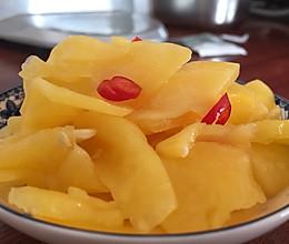 脆酸木瓜的做法