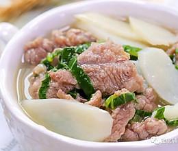 滑嫩牛肉汤 宝宝辅食食谱的做法