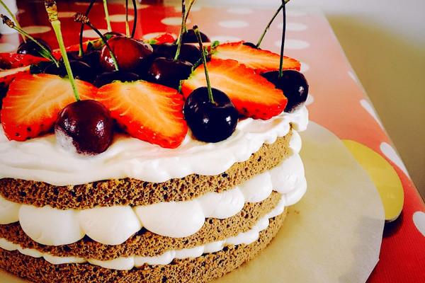 生日蛋糕这样做好简单~裸蛋糕初级教程的做法