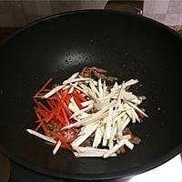 杂蔬牛肉炒乌冬面的做法图解6
