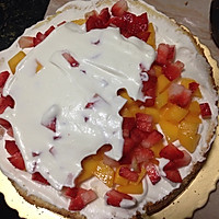 鲜水果奶油蛋糕的做法图解12