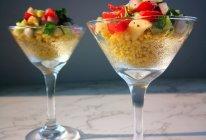 小米果蔬沙拉的做法