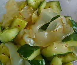 黄瓜粉皮的做法
