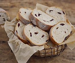 全麦蔓越莓软欧包的做法