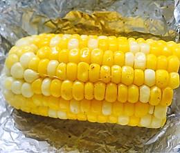 烤黄油玉米的做法
