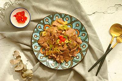 大葱炒羊肉