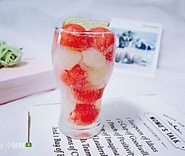 荔枝西瓜饮#单挑夏天#的做法