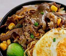 肥牛咖喱面|懒人料理的做法