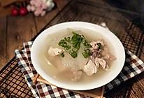 冬瓜排骨汤--冬季滋补好营养的做法