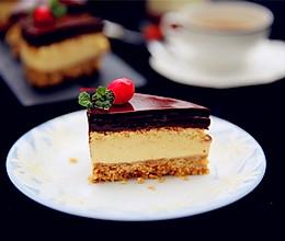 巧克力奶酪蛋糕#东巧克力菱烤立方DL--K38E#的做法
