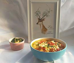 #父亲节,给老爸做道菜#简单好喝的西红柿鸡蛋汤的做法