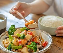 #硬核家常菜#三鲜豆腐|鲜香开胃的做法