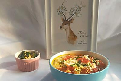 简单好喝的西红柿鸡蛋汤