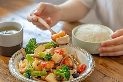 三鲜豆腐 鲜香开胃