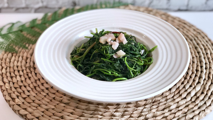 猪油炒苋菜(快手菜)