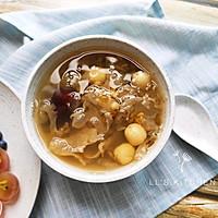 清润糖水:绿豆银耳莲子汤的做法图解6