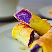 #美味烤箱菜,就等你来做!#松子紫薯烤吐司
