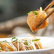 葱油鲜虾藕丸