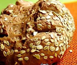 燕麦欧包的做法