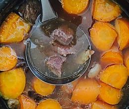 蕃茄胡萝卜牛肉汤的做法