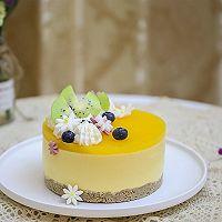 百香果南瓜慕斯生日蛋糕(百香果果冻夹层)的做法图解19