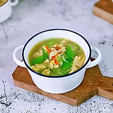 #餐桌上的春日限定#胡萝卜虾皮丝瓜蛋汤