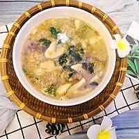 #春季减肥,边吃边瘦#鲜菇肉丸汤的做法图解12