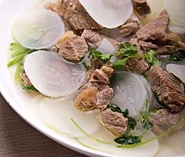 清炖牛肉白萝卜的做法