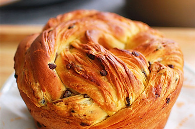 红豆丹麦手撕面包