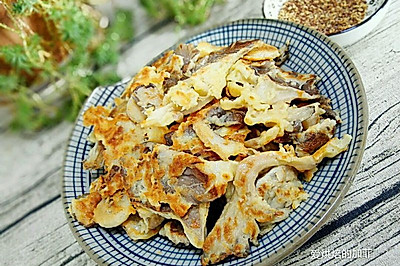 椒盐蘑菇(有椒盐的做法噢)