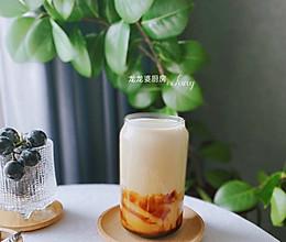 #我们约饭吧#懒人零失败做法【黑糖珍珠奶茶】的做法