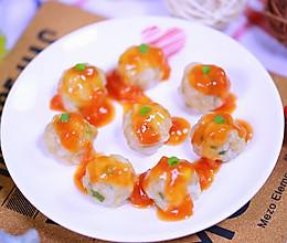 白萝卜丝肉丸 宝宝辅食食谱的做法