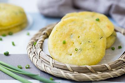 米浆葱香软饼