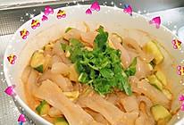 凉菜~黄瓜拉皮~的做法