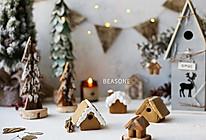 糖霜饼干圣诞迷你姜饼屋的做法