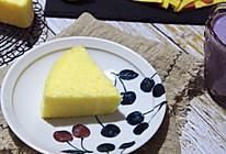 玉米面蒸蛋糕,好吃不上火的做法