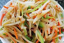 素炒土豆丝(三丝)的做法