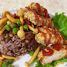 #憋在家里吃什么#猪排饭