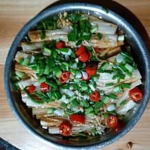 葱油金针菇