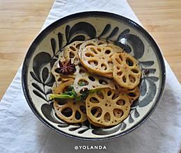 酸辣藕片 | 素食小菜的做法