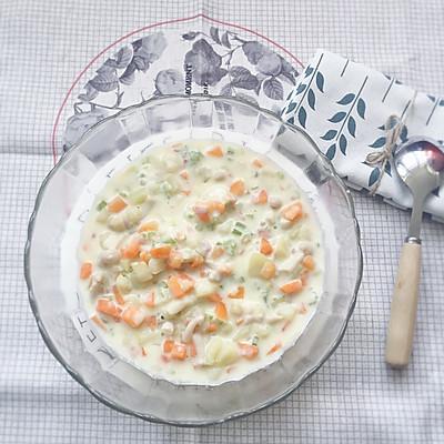 北海道芝士奶油蔬菜浓汤