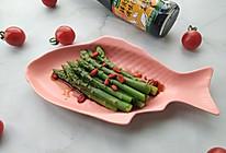#春日时令,美味尝鲜#鲜贝露春日尝鲜+白灼芦笋的做法