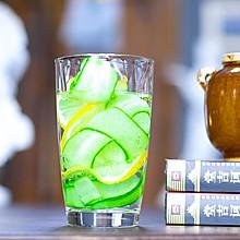 黄瓜柠檬气泡水!超人气网红饮料!美白消水肿,减肥祛湿气