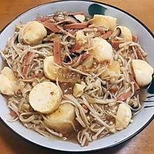 金针菇玉子豆腐