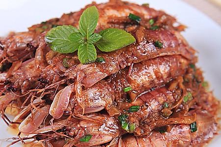 沙茶酱炒虾菇的做法